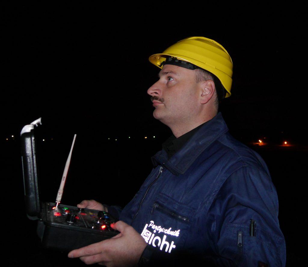 Rainer Siegl, Chefpyrotechniker